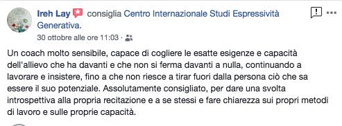 recensione Gianluca Testa espressività generativa irene
