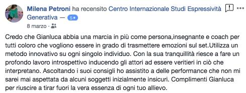 recensione Gianluca Testa espressività Generativa Milena Petroni