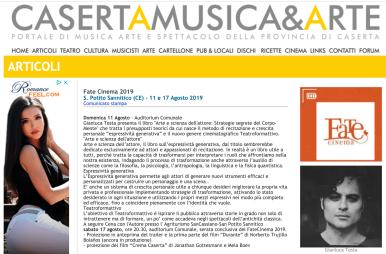 articolo su caserta musica